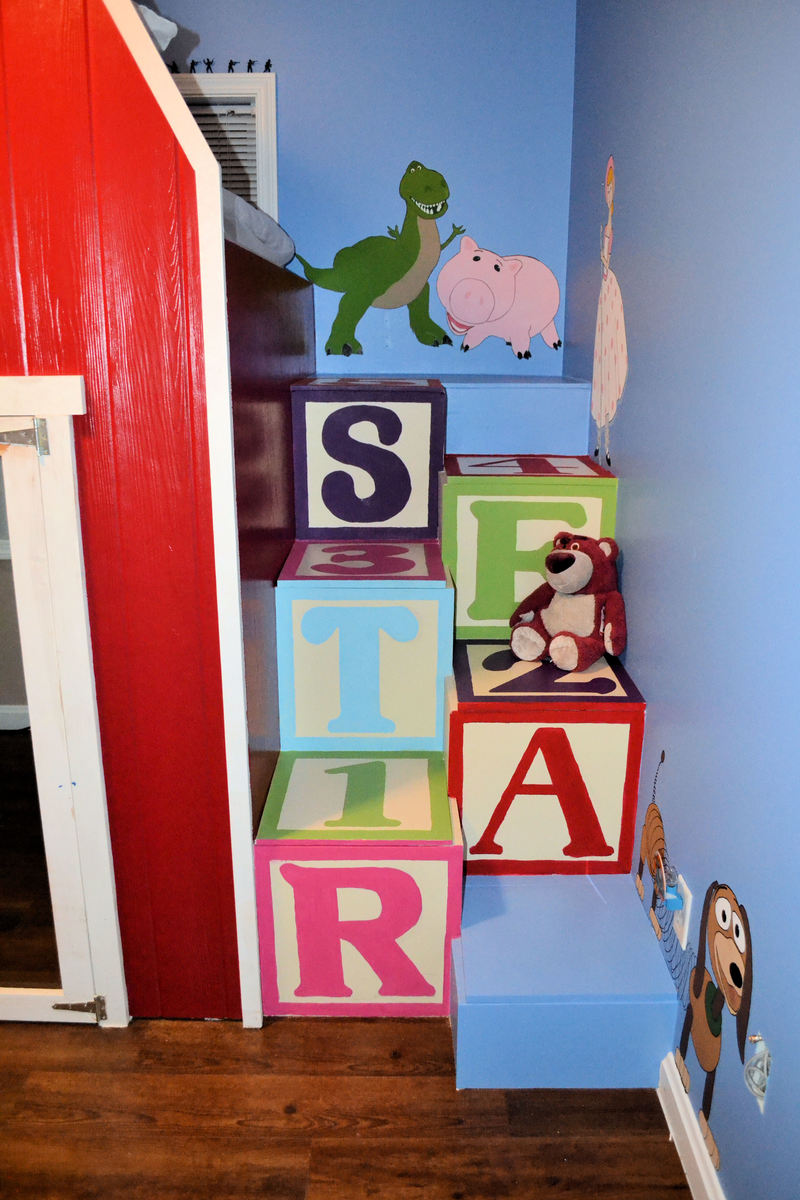Ana white toy story 2 loft bed diy projects additional photos amipublicfo Image collections