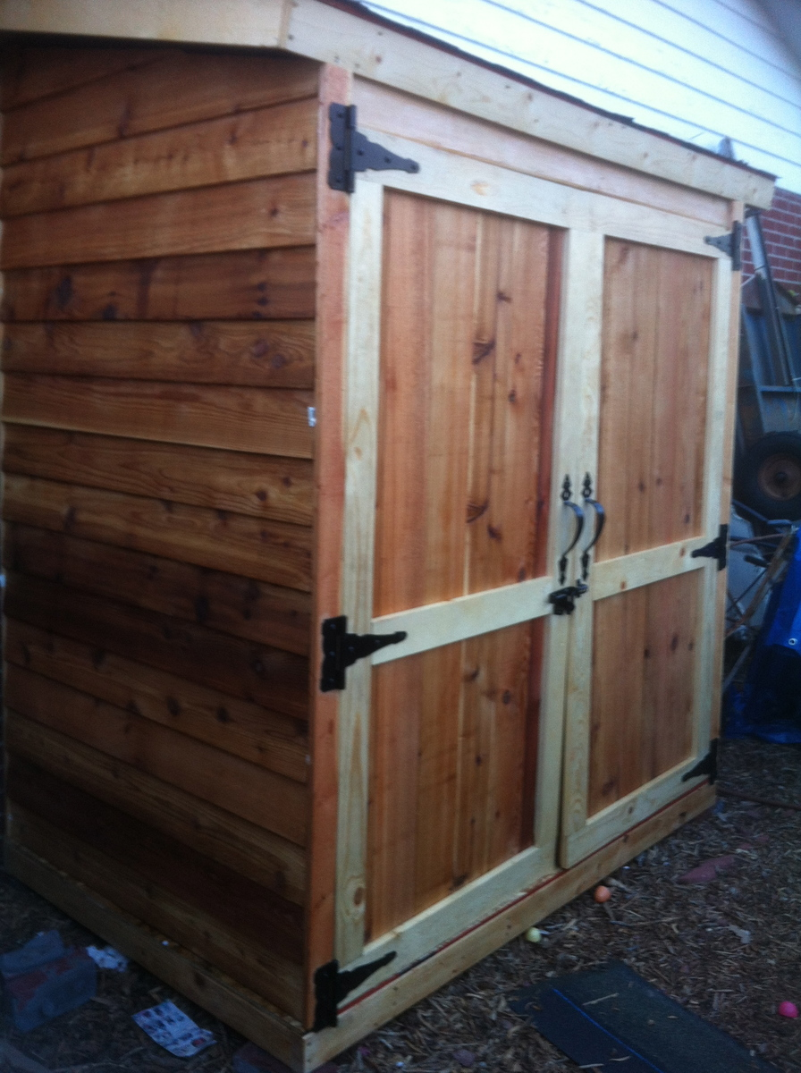 Ana White Small Shed Diy Projects
