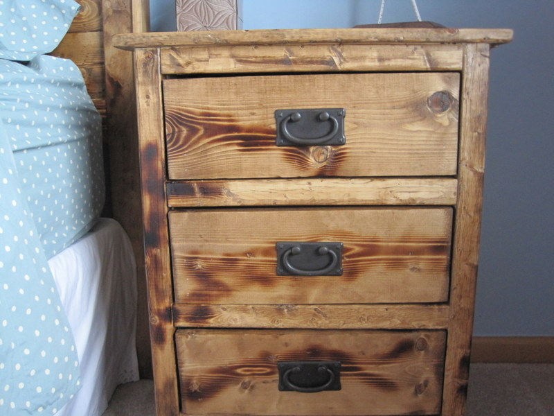Ana white reclaimed wood look bedside tables diy projects reclaimed wood look bedside tables watchthetrailerfo