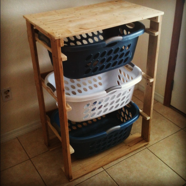 Superb Pallirondack Laundry Basket Dresser