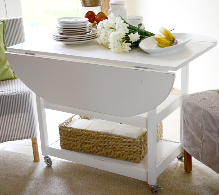 Perfect How to build a drop leaf storage table with free simple step by step plans from Ana White