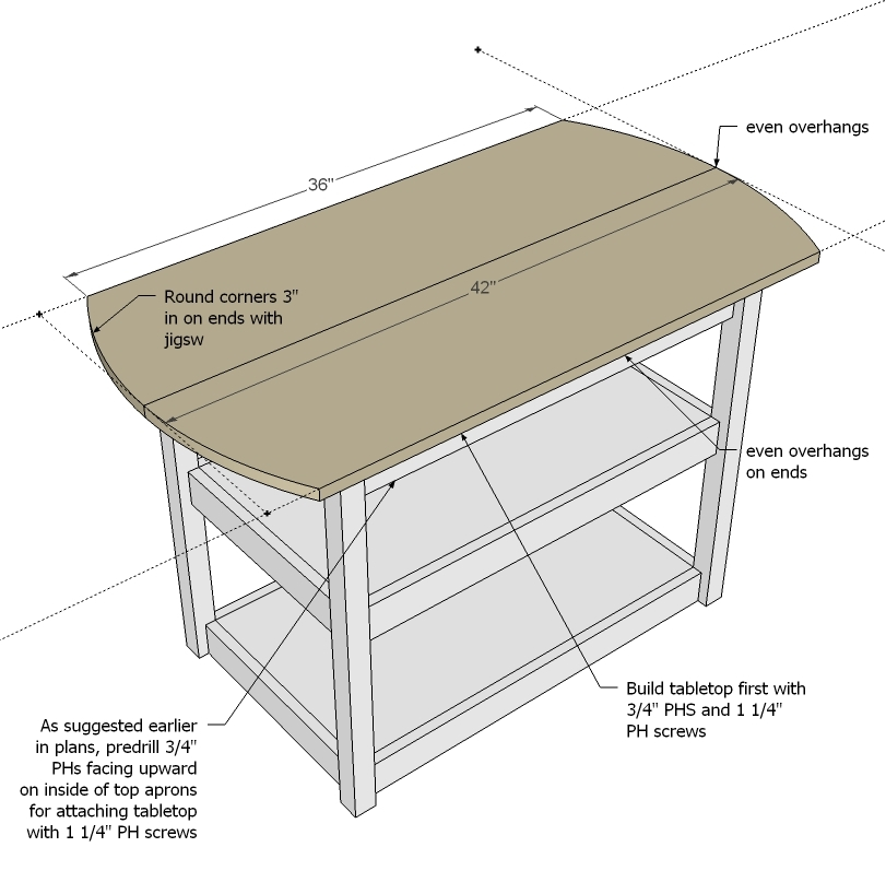 Ana White Drop Leaf Round Storage Table Diy Projects