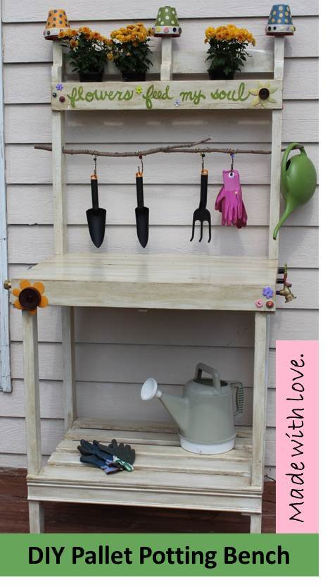 Cute Diy Pallet Potting Bench Ana White