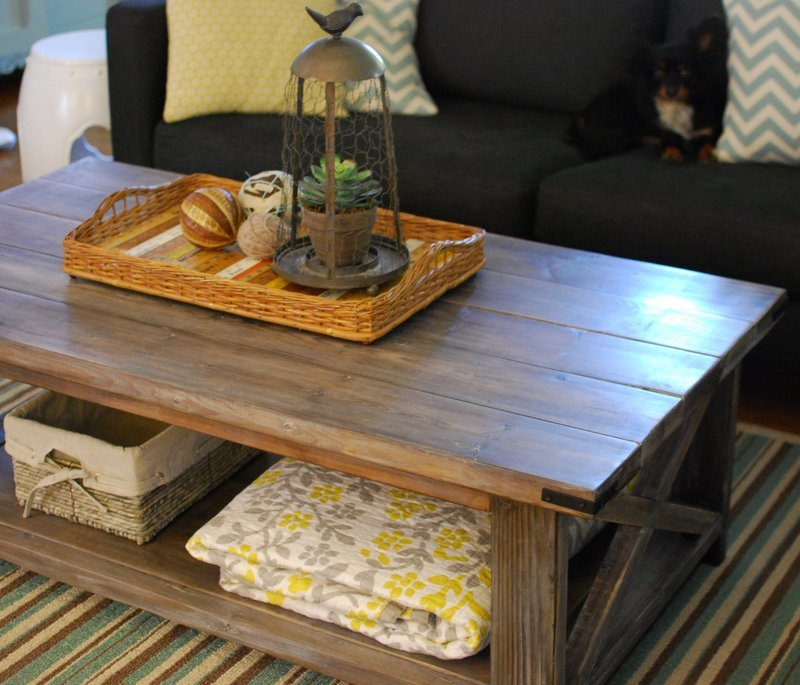Rustic X Coffee Table - Ana White Rustic X Coffee Table - DIY Projects