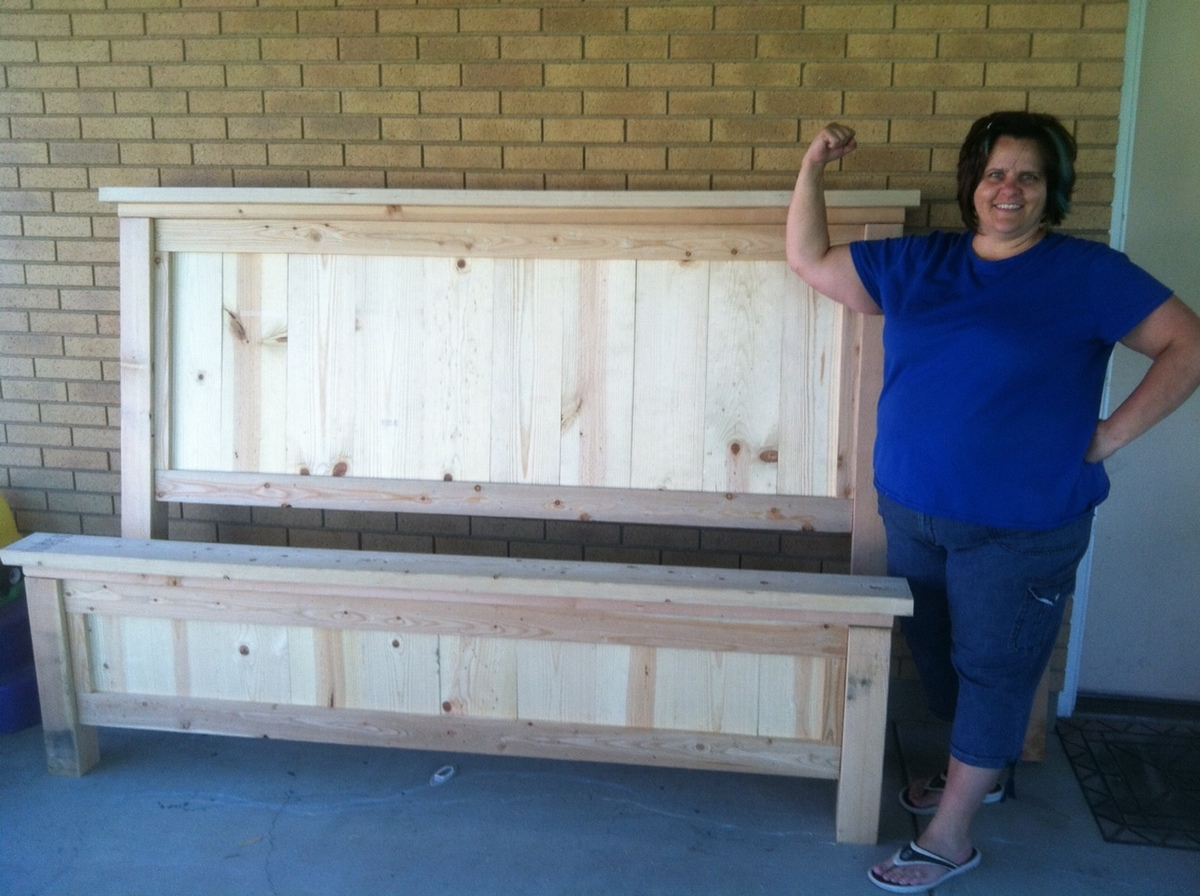 Ana White Farmhouse Bed King Size Diy Projects