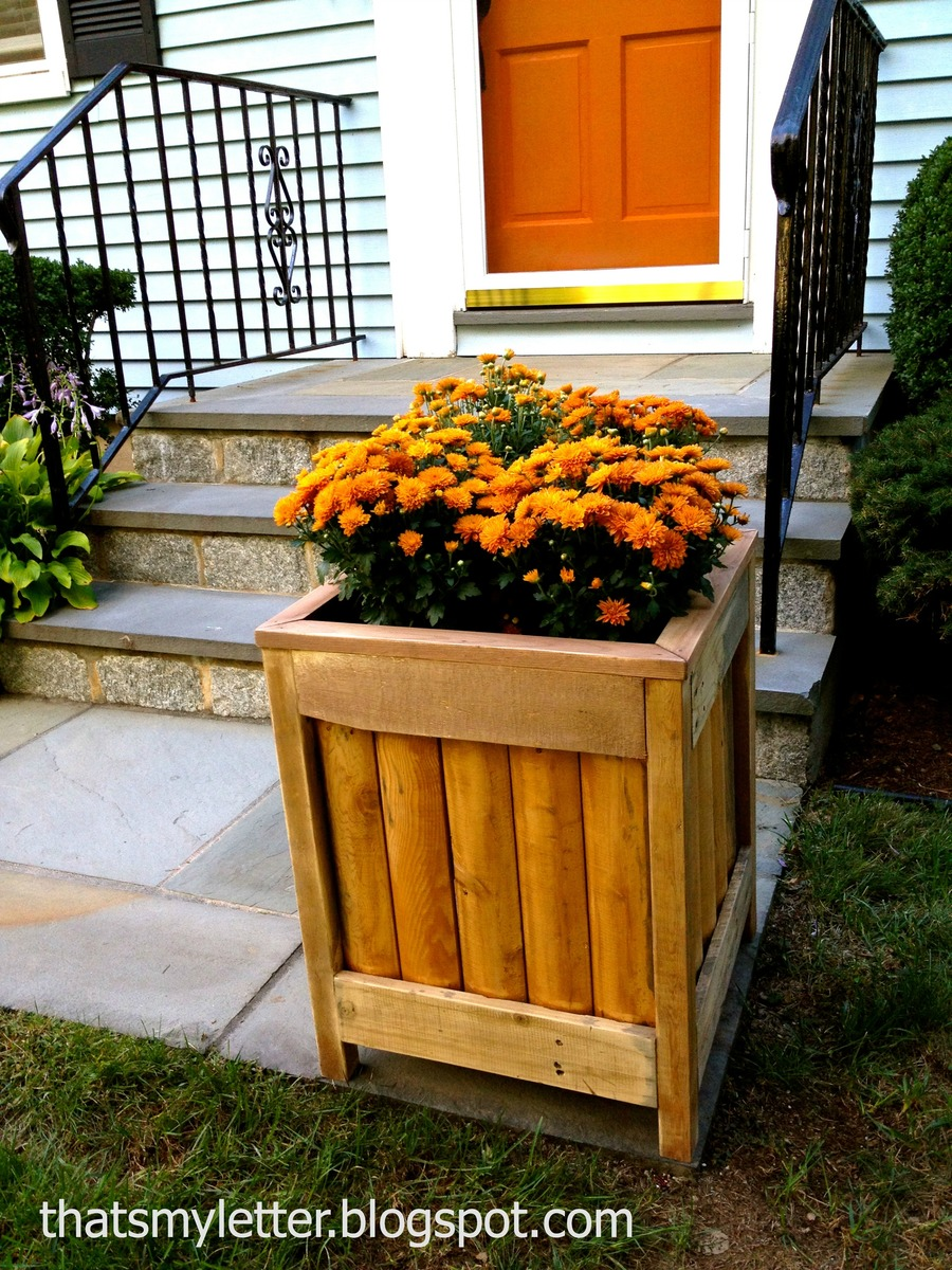 Ana white outdoor planter diy projects outdoor planter workwithnaturefo