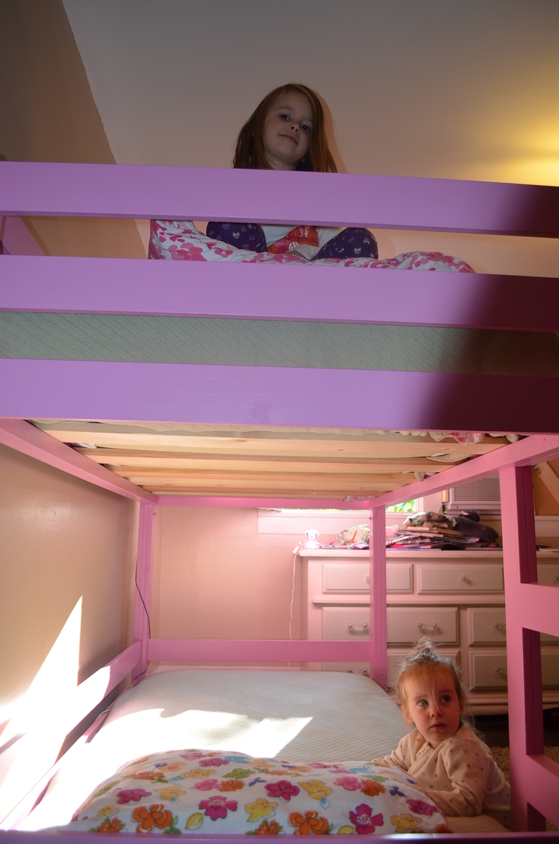 Girly Bunk Beds Ana White