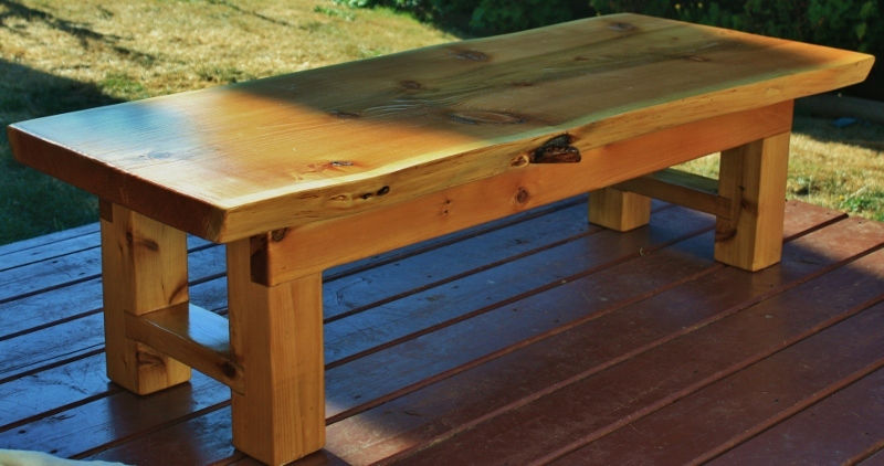 Beau Red Cedar Zen/coffee Table