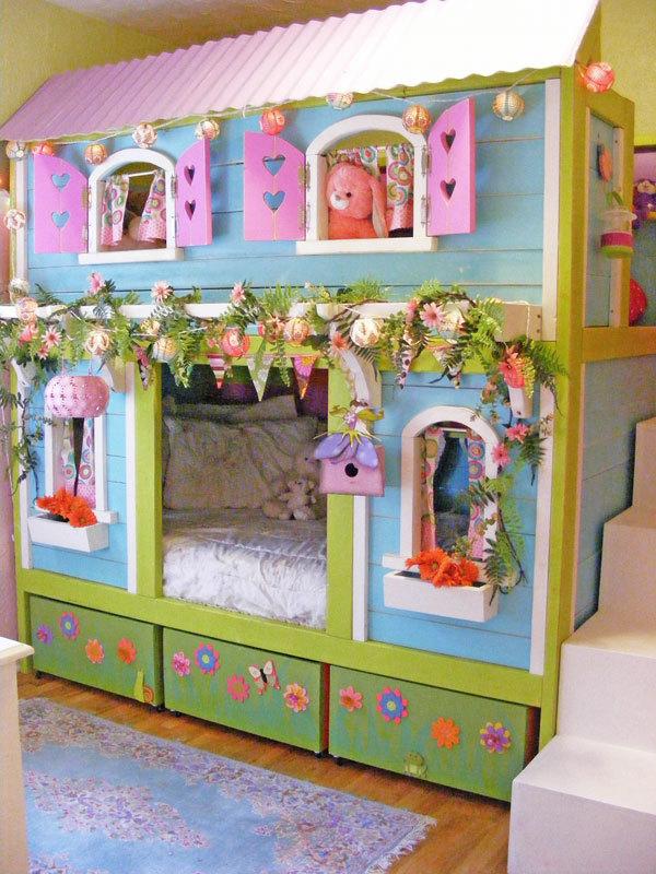 Sweet Pea Bunk Bed Ana White