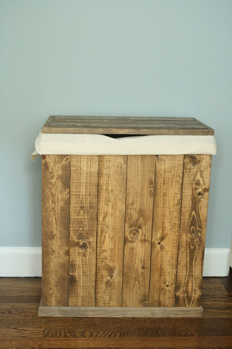 Wooden laundry hamper plans wooden designs ana white hamper diy projects solutioingenieria Choice Image