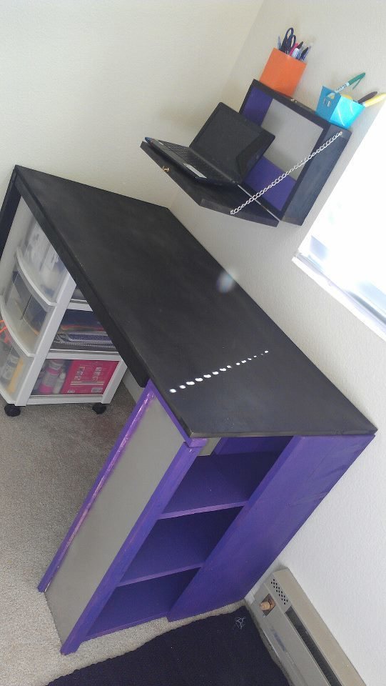 Ana White Perfect College Student S Desk Combo Diy