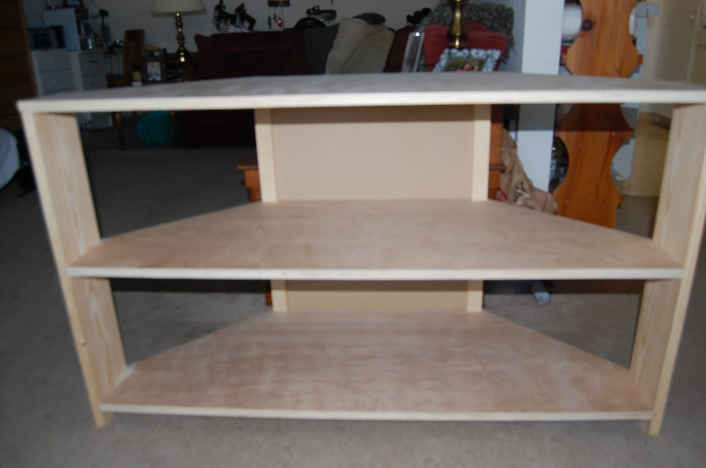 How to make a corner tv stand plans diy free download for How to make tv cabinet