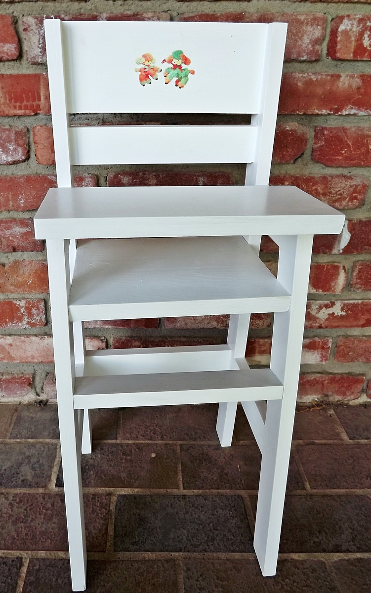 Ana White Olivia S Doll Crib And High Chair Sets Diy
