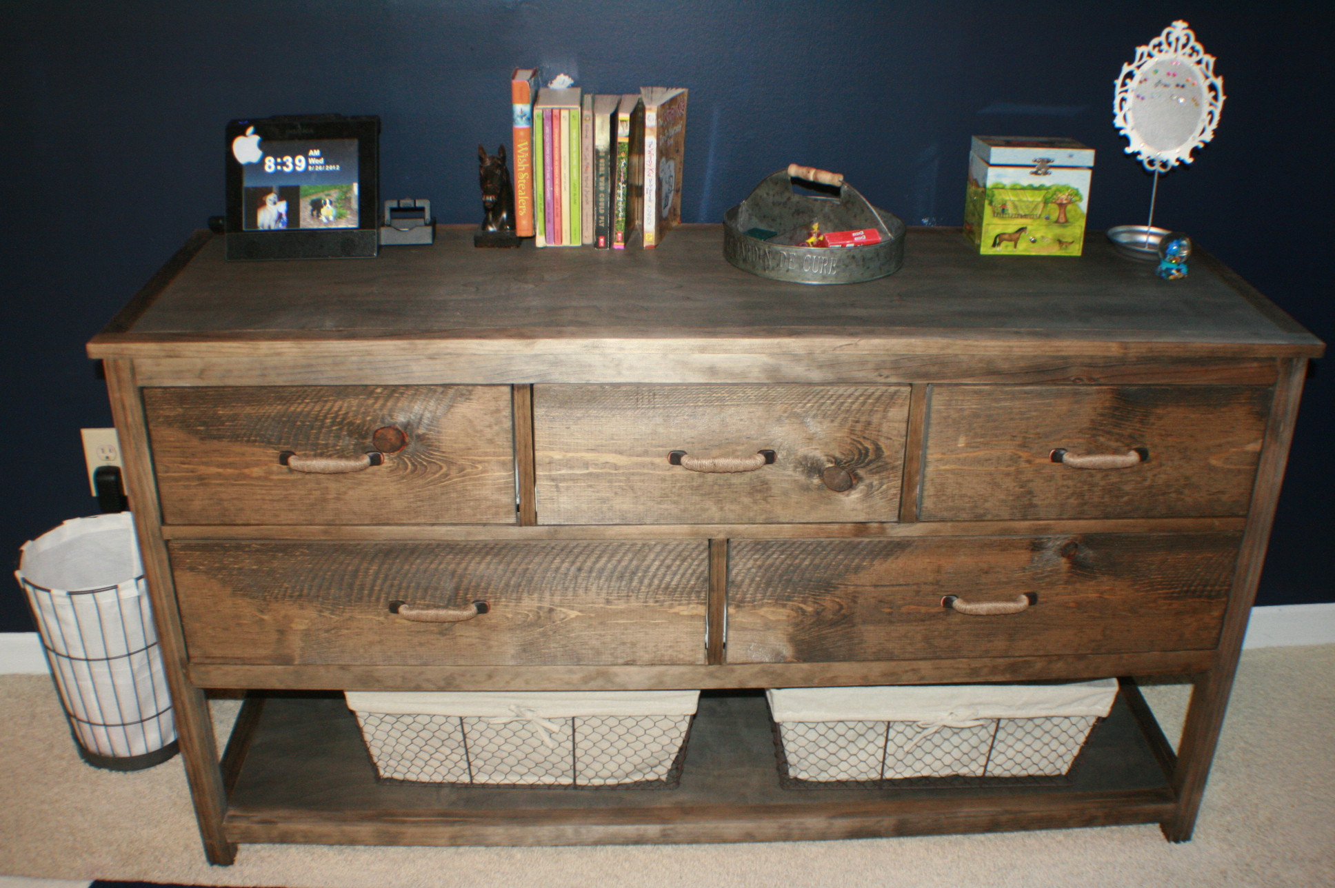 Ana White Pottery Barn Wide Camp Dresser Diy Projects