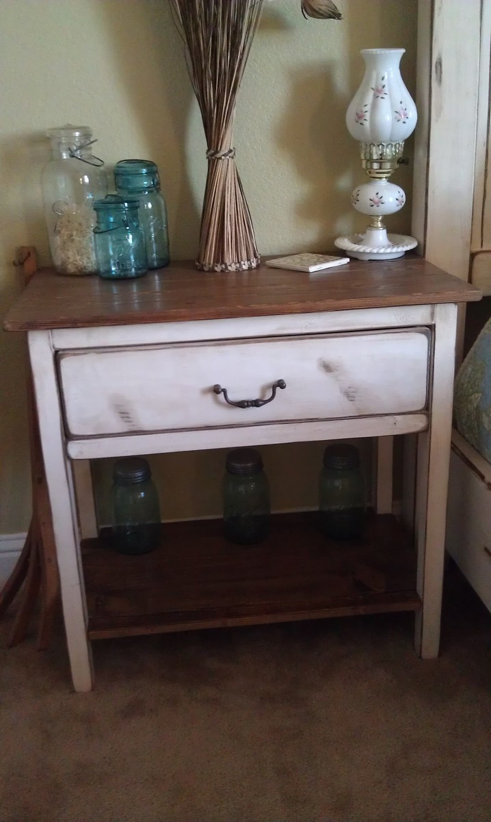 Ana White Farmhouse Nightstand Diy Projects