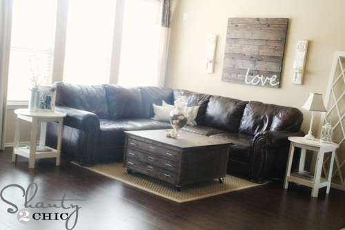Can You Count The DIY Projects In Ashleyu0027s Family Room? Thereu0027s At Least  Half A Dozen!!! Go Get The Details On This Coffee Table Build, The Finish,  ... Part 47