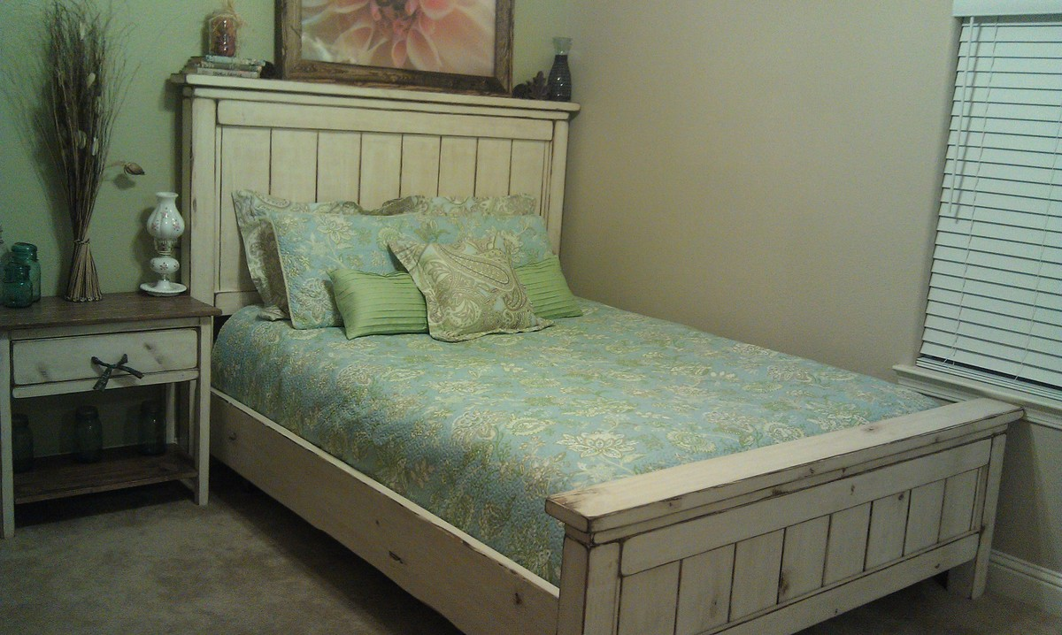 Ana White | Farmhouse Bed - Queen - DIY Projects