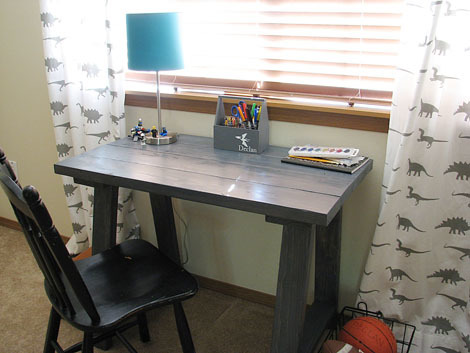 Superb Free Plans To DIY A Simple Desk Inspired By Pottery Barn Teen Desk. Itu0027s  Just 2x4s And We Got The Step By Step!