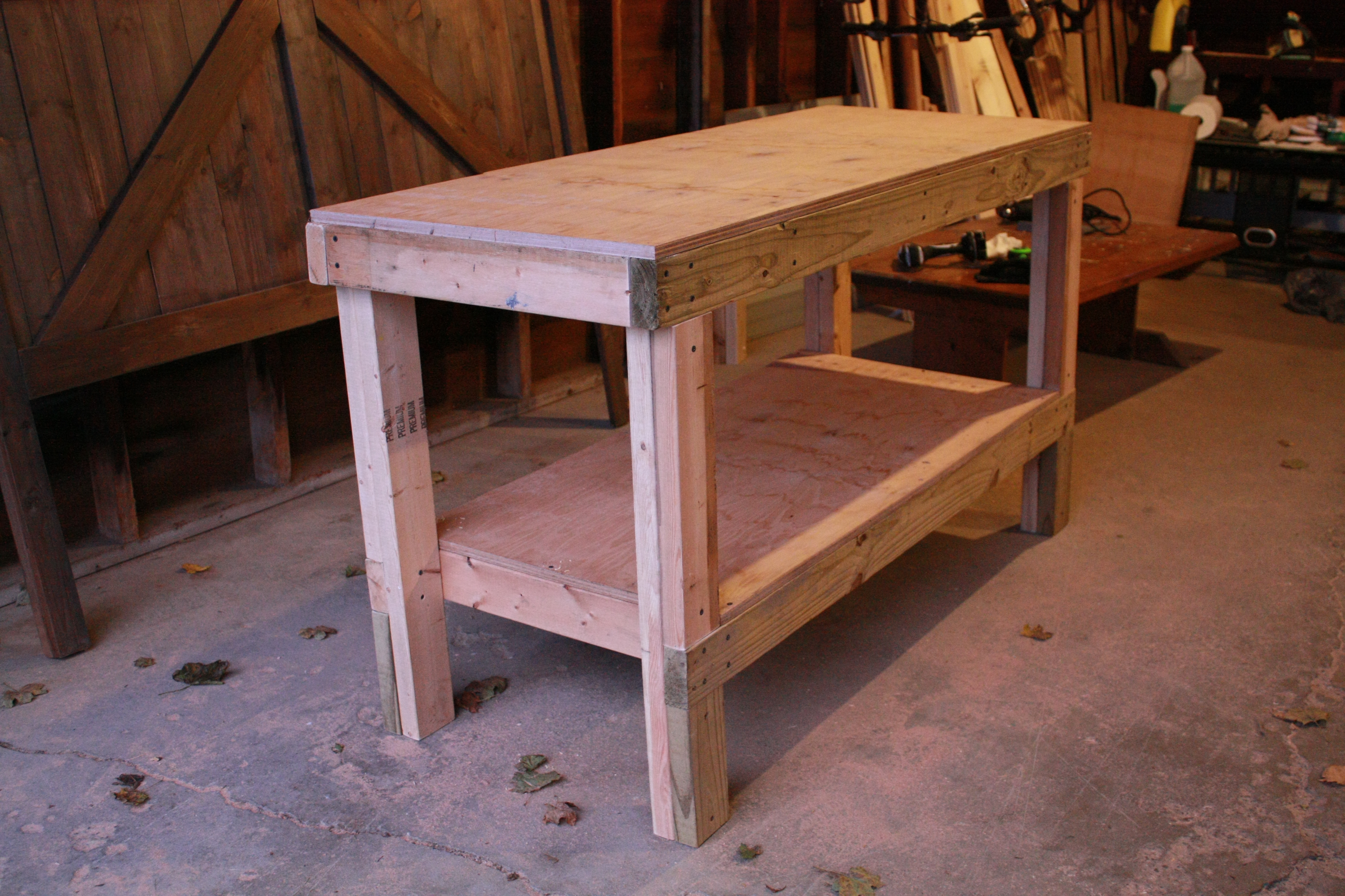 Stupendous Quick Easy Workbench Ana White Caraccident5 Cool Chair Designs And Ideas Caraccident5Info