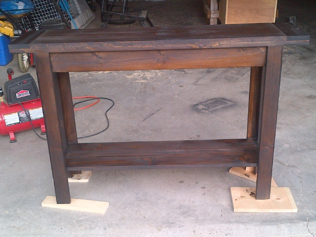Ana White Console Table Very Fun And Easy To Build