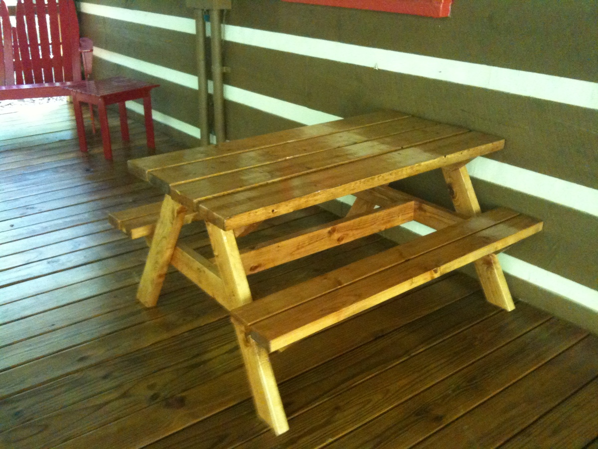 Bigger Kids Picnic Table Ana White
