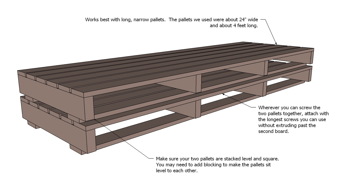 Pallet Sofa with Tacoma Perry | Ana White