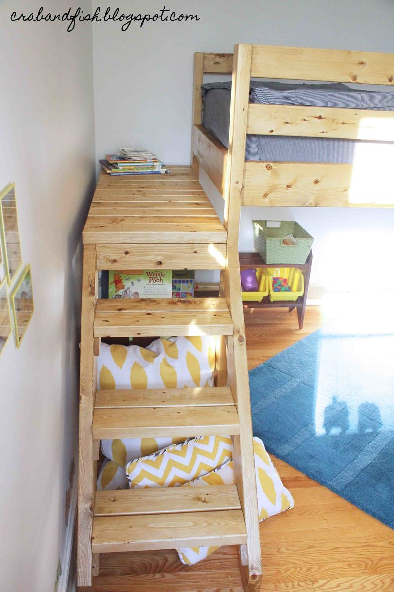 Ana White | Big Boy Toddler Loft Bed! - DIY Projects