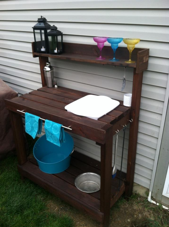 Ana White Outdoor Bar Diy Projects