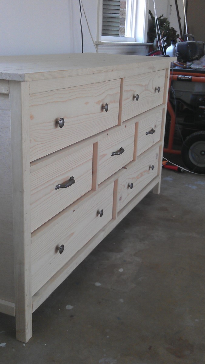 Ana White Wide Cabin Dresser Diy Projects