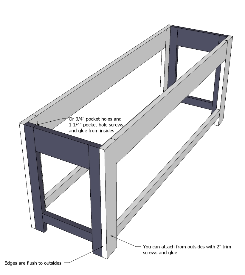 Ana White Flip Top Storage Bench New Plans Diy Projects