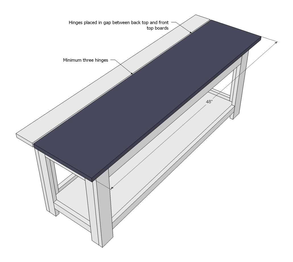 Ana white flip top storage bench new plans diy projects pooptronica