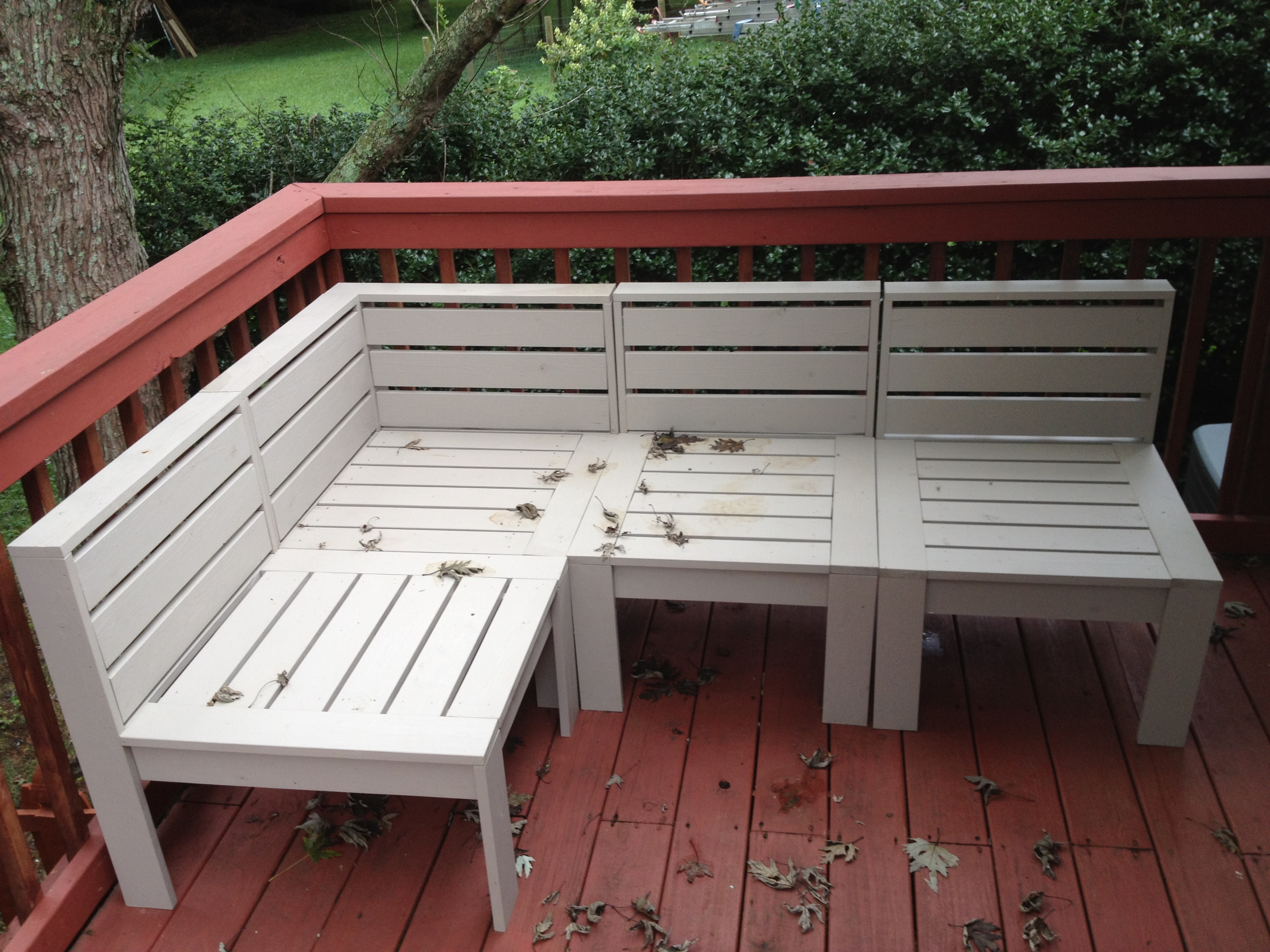 Diy Patio Daybed Ana White