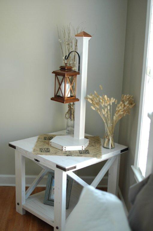 T's Rustic X End Table - DIY Projects
