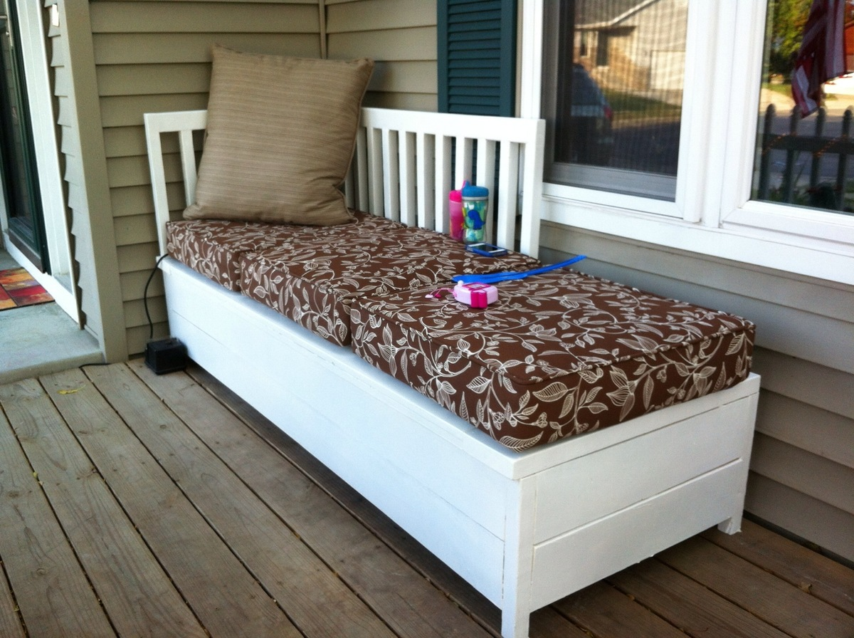 Ana White Porch Bench With Storage Diy Projects
