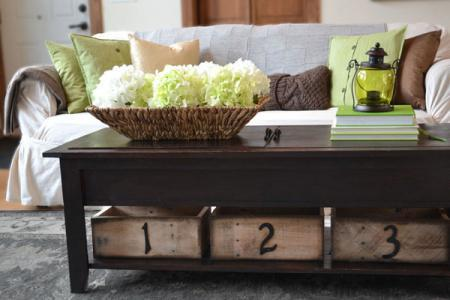 ana white | wooden train table coffee table - diy projects