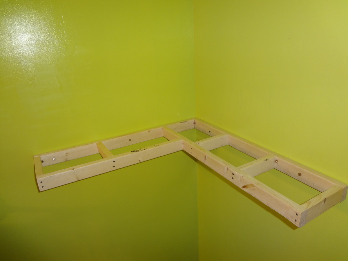 Diy floating corner shelf Plans PDF Download Free Build A Wooden ...