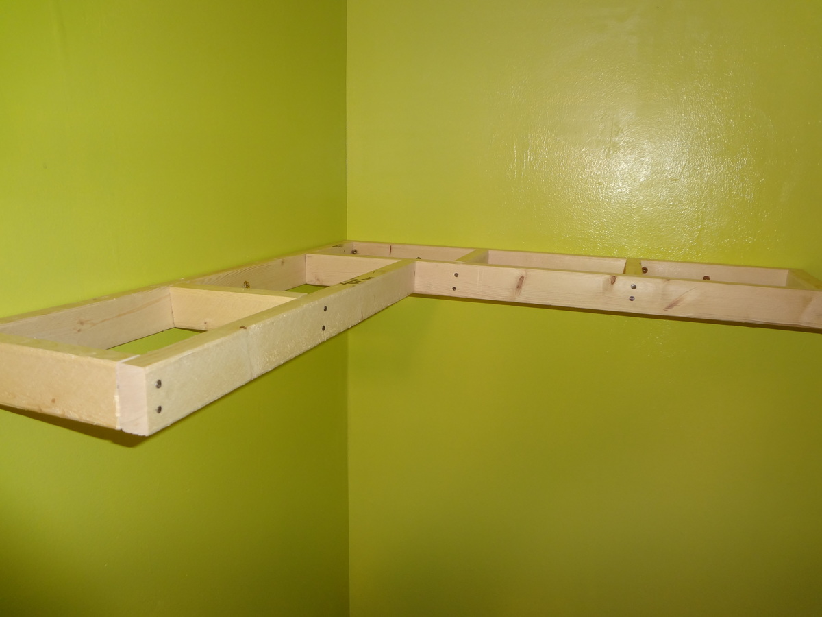 floating corner shelves - 28 images - simple and stylish diy ...