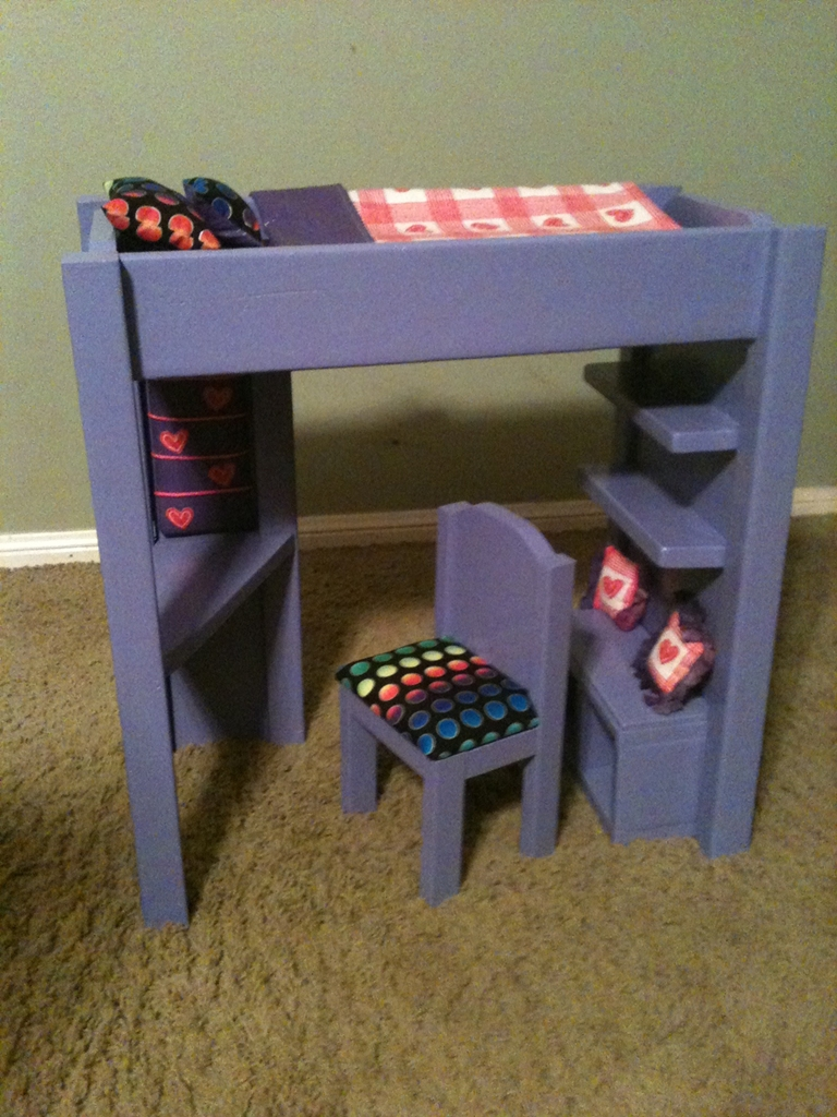 Loft Bed For American Girl Or 18 Doll Ana White