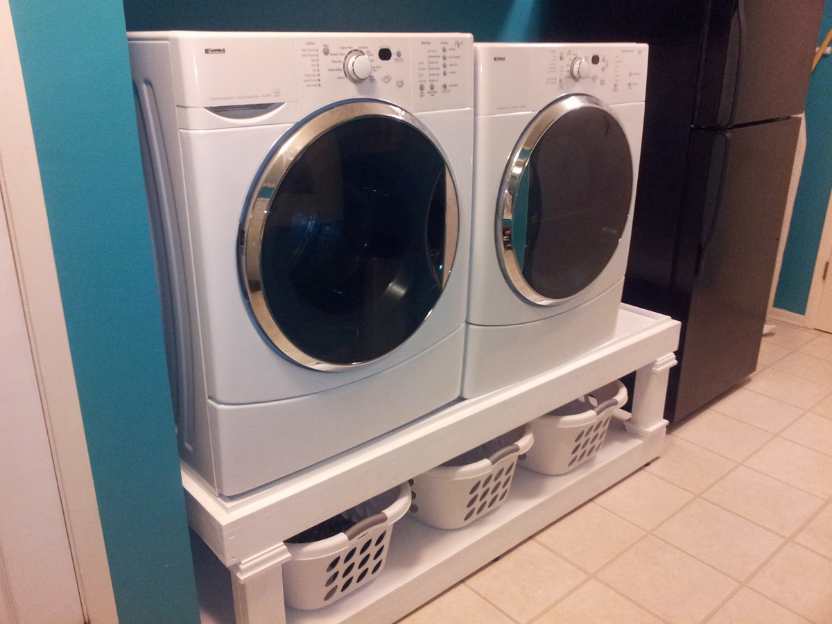 Ana White Washer And Dryer Pedestal DIY Projects