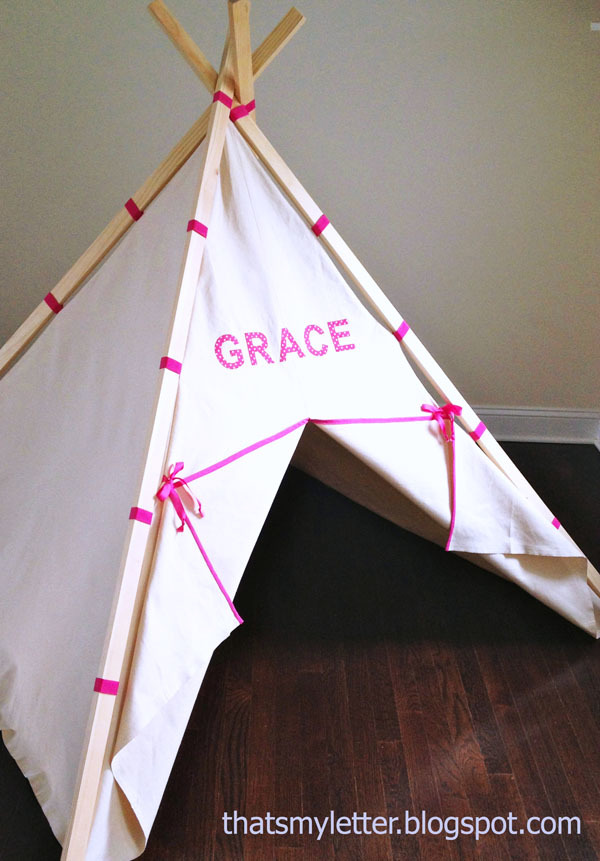 Ana White | Easiest Play TeePee Tutorial - DIY Projects