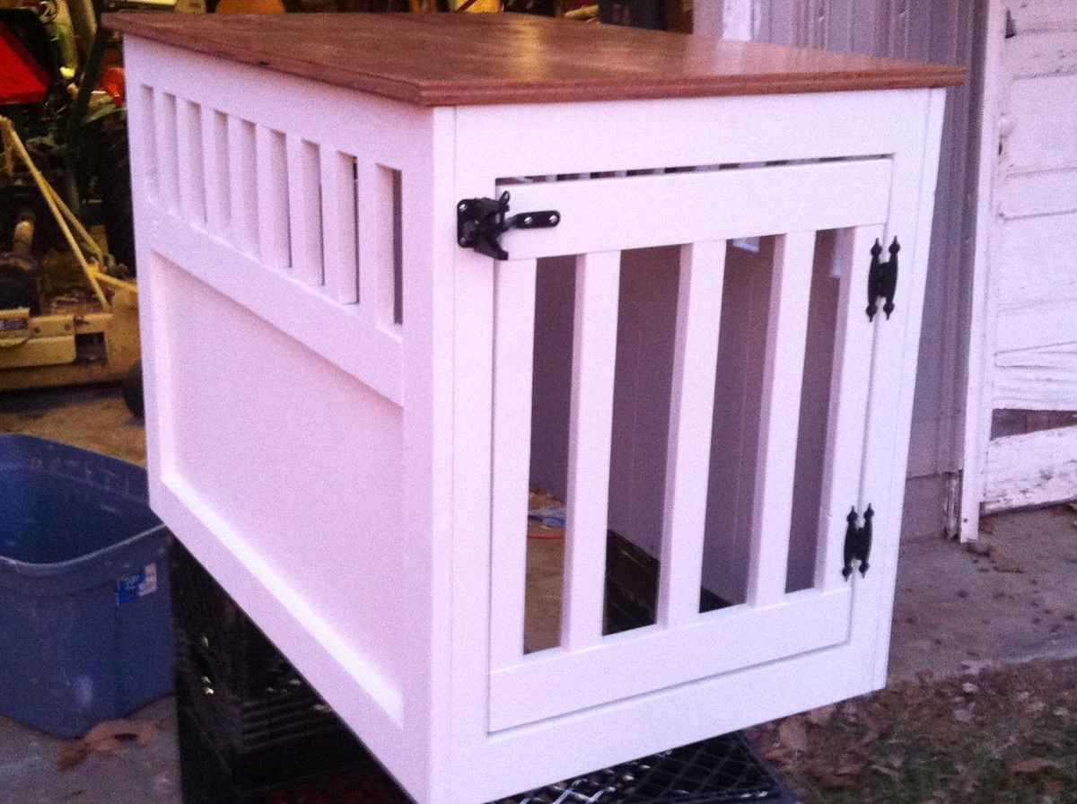 Woodworking diy wood dog crate PDF Free Download