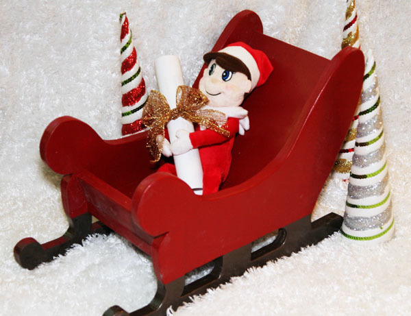 Ana White Wood Sleigh Diy Projects
