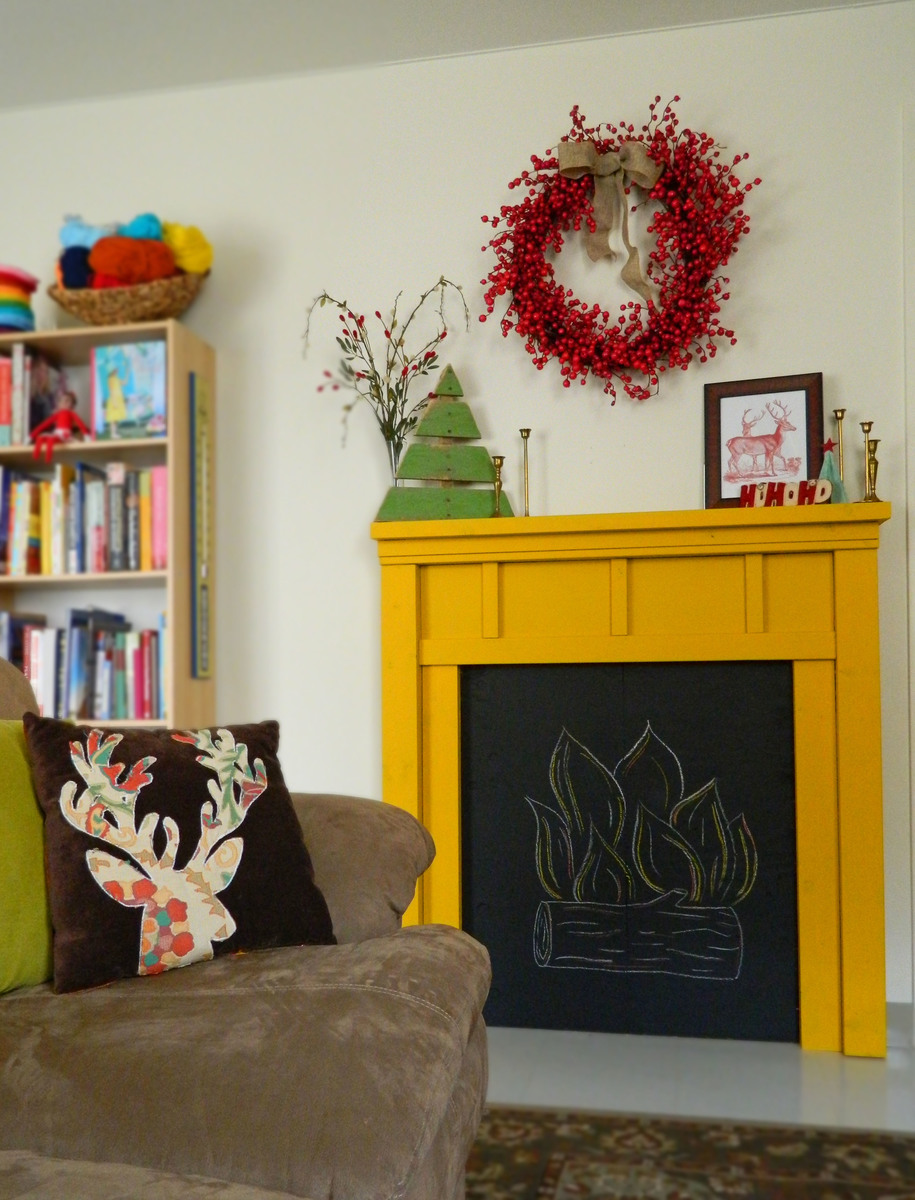 ana white faux fireplace diy projects