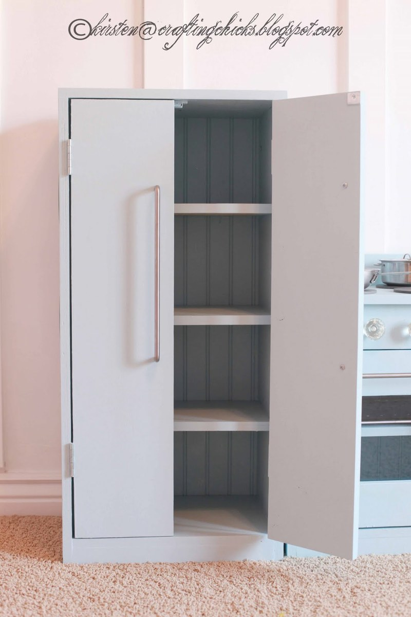 Ana White | Updated Play Kitchen Fridge Plans - DIY Projects
