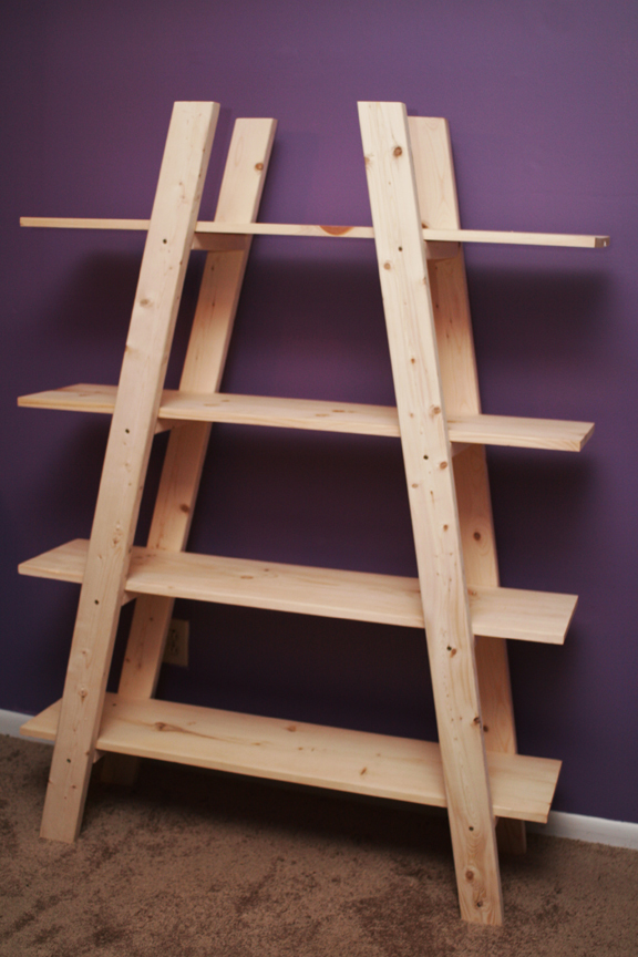 Ana White | Truss Shelves- my first project! - DIY Projects