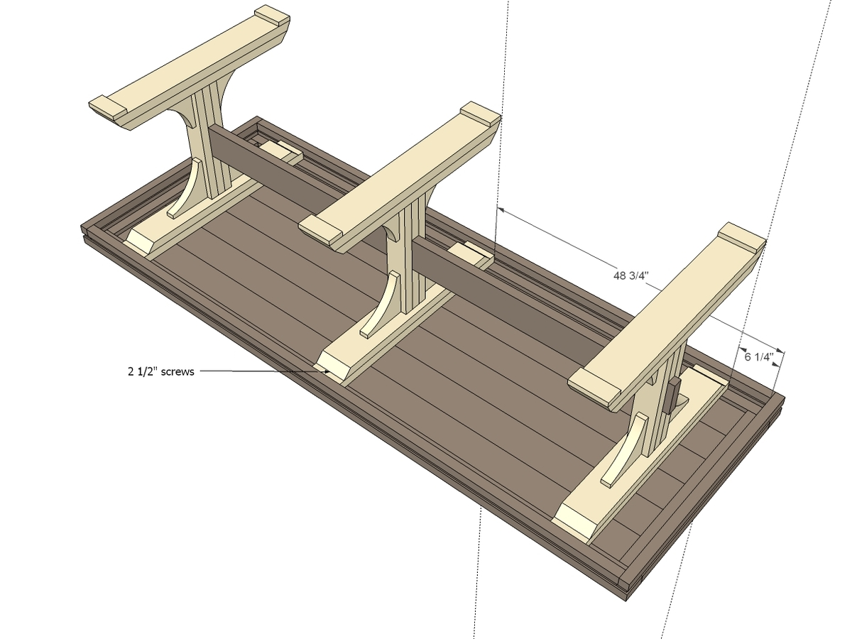 How To Build Wood Pedestal Table Base Plans Pdf Plans