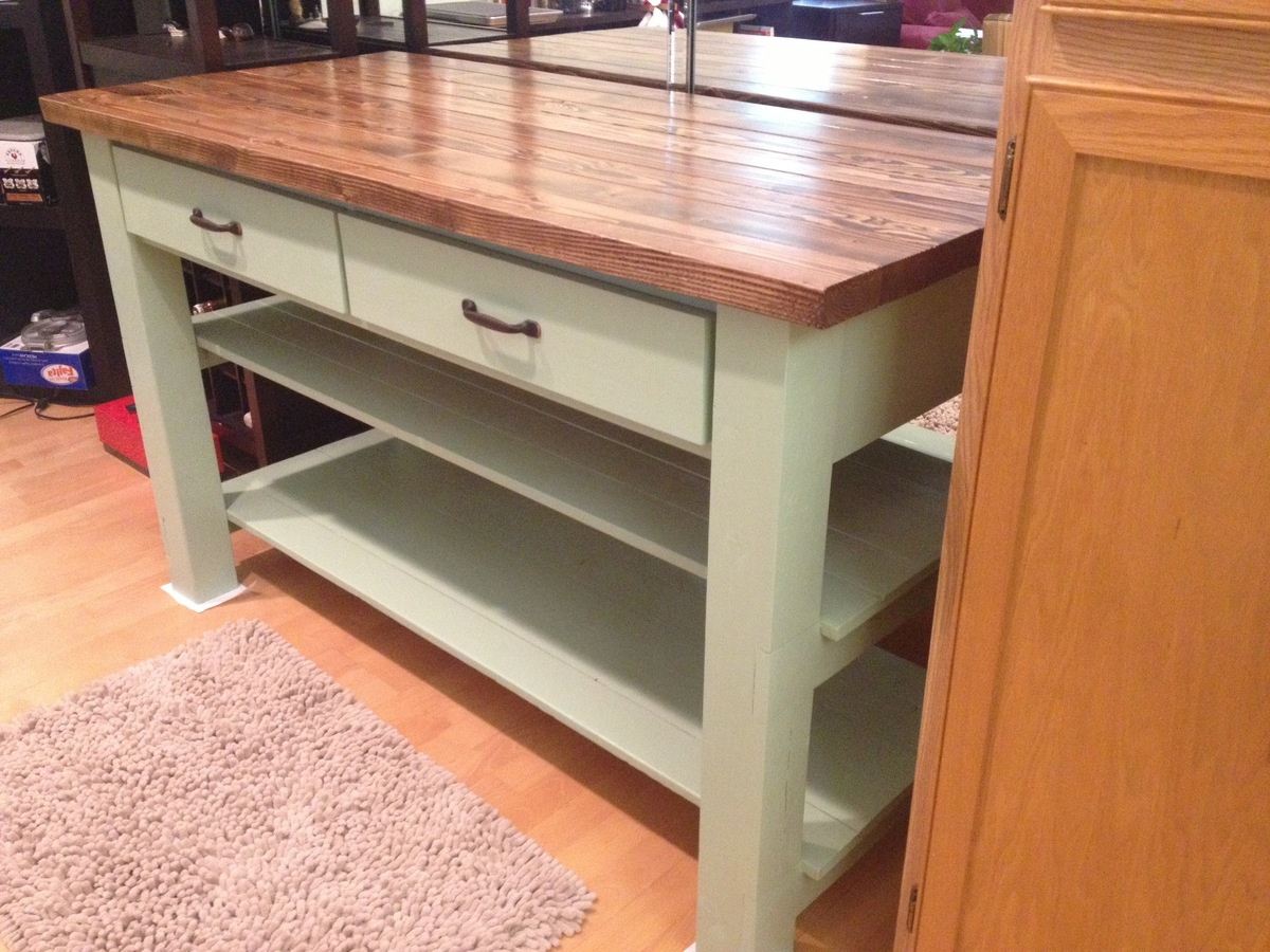 Do It Yourself Kitchen Islands Inspiration