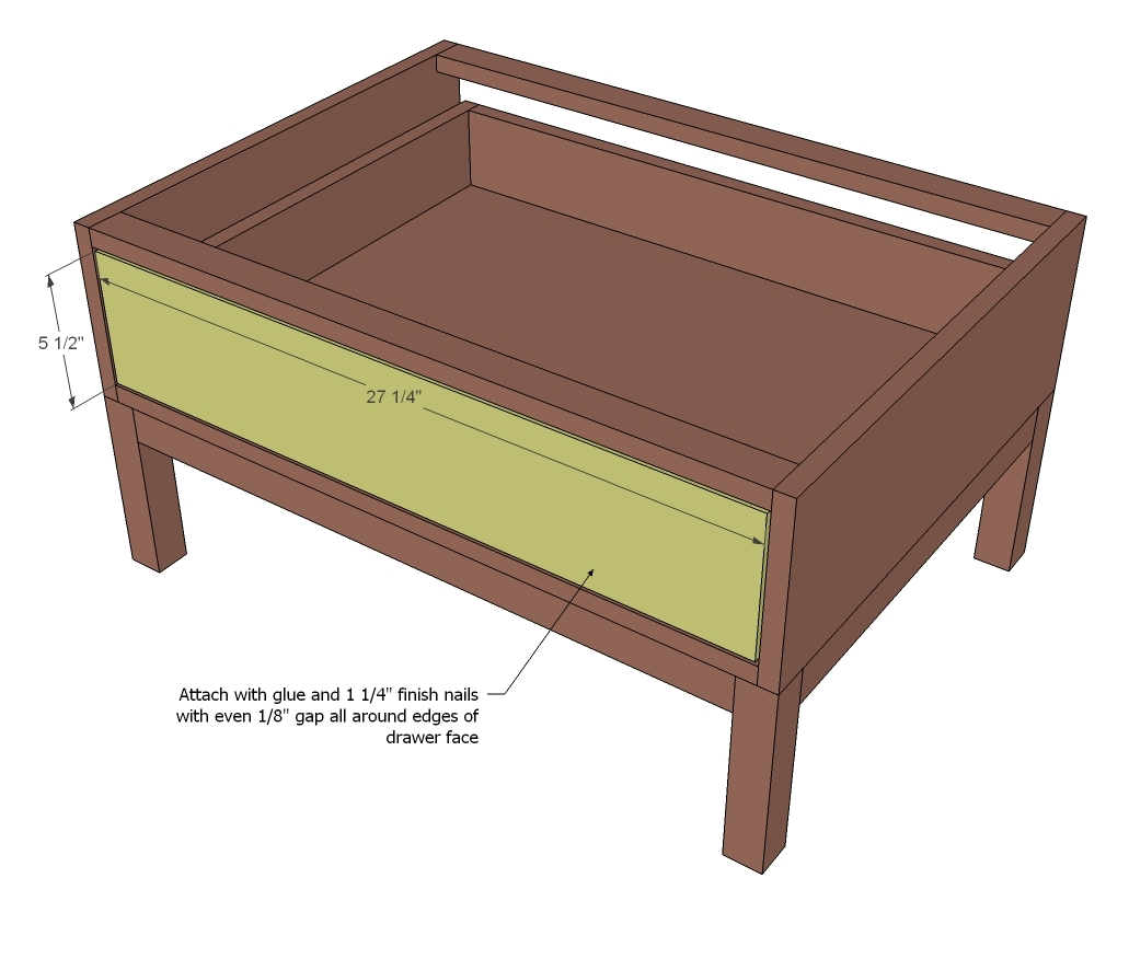 Ana White Open Drawer Base Cubby Collection Diy Projects