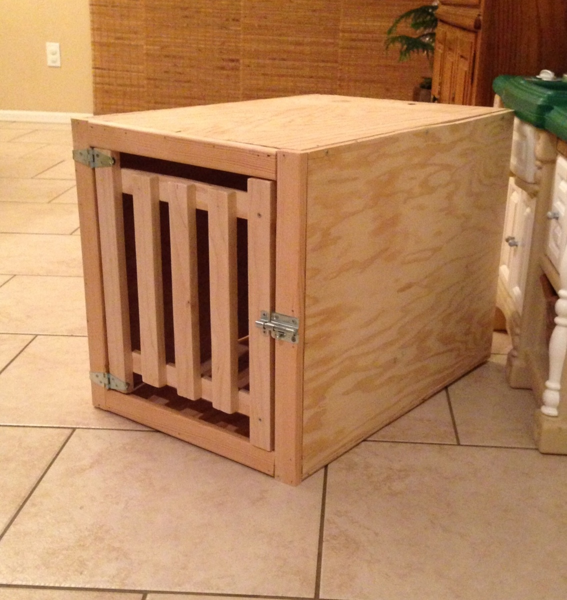 ... Dog Crate End Table also Dog Crate Bench Seat likewise DIY Wooden Dog