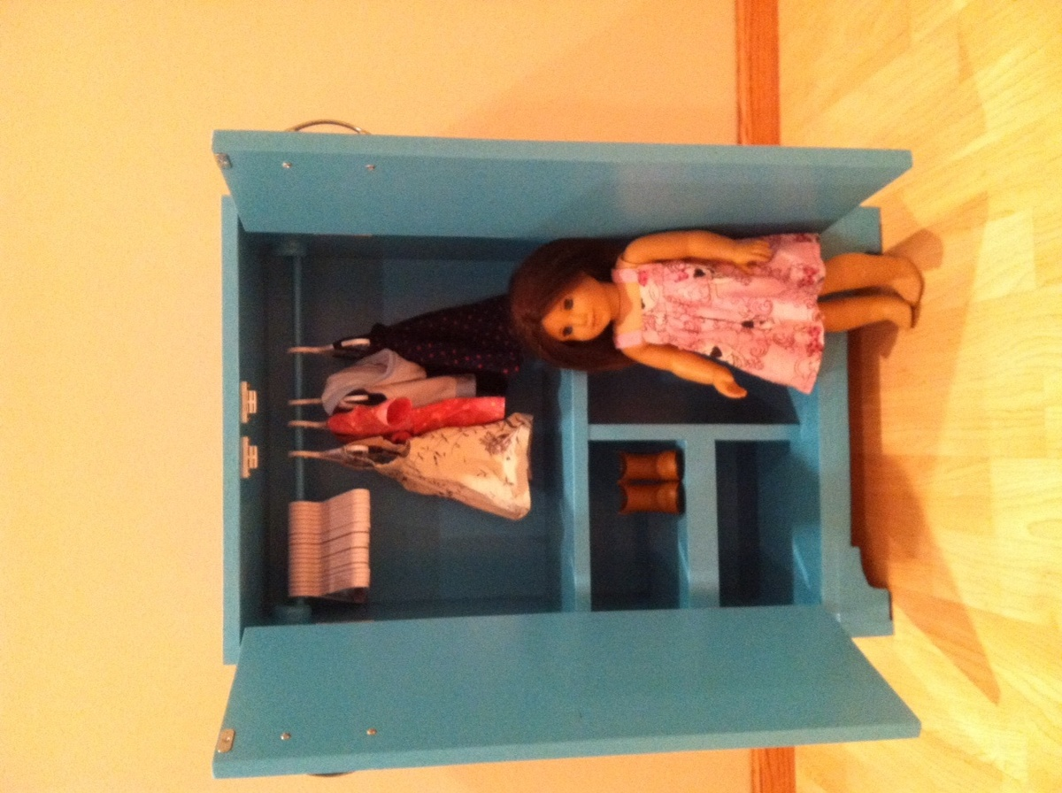 Ana White American Girl Doll Closet Diy Projects